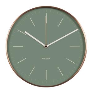 Billede af Wall clock Minimal - grøn Karlsson vægur